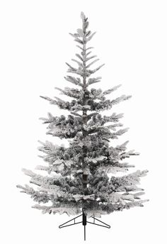 12ft Snowy Nobilis Fir Feel-Real Artificial Christmas Tree