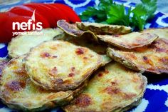 Nişastalı Çıtır Kabak Kızartması Cauliflower, Mashed Potatoes, Stuffed Peppers, Fresh, Chicken, Vegetables, Ethnic Recipes, Side Dish, Foods