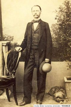 Plaid Trousers and Matching Vest - Interesting Combo c. 1870