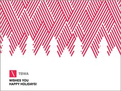 TBWA Corporate Greeting Cards '13 on Behance