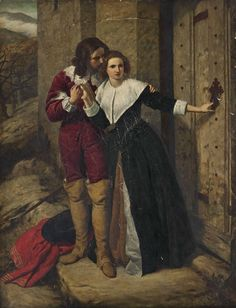Frederick Richard Pickersgill - Being held a foe, he may not have access to breathe such vows as lovers use to swear. Romeo and Juliet, Act II Prologue