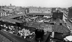 Old photos of Limerick Milk Market by Gerry Andrews Old Pictures, Old Photos, Limerick City, My Family History, Folklore, Bungalow, 1970s, United Kingdom, Bliss