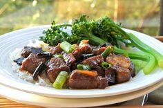 Seasaltwithfood: Stir-Fried Orange Beef