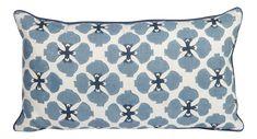 Galbraith and Paul Sakura Linen Lumbar Pillow on Chairish.com