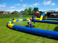we even have mini quads for the kids so theyre not left out!