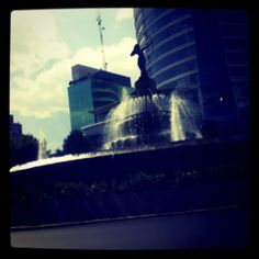 #Diana #Cazadora #Mexico #City #fountain