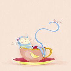 Cat nap by cadernodepintar, via Flickr