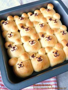 adorable bear buns