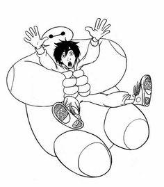 Dibujos para Colorear Big Hero 6 3