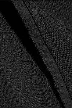 Jason Wu - Chiffon-trimmed Stretch-crepe Dress - Black - US10