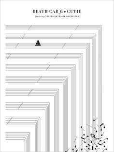 Death Cab for Cutie Magik Orchestra poster by Jason Munn - Kitchen