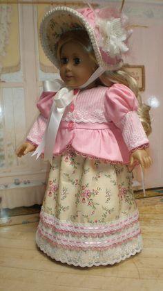CAROLINE ABBOTT REGENCY Dress and Spencer by dollupmydoll, $140.00