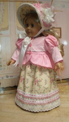 CAROLINE ABBOTT REGENCY Dress and Spencer by dollupmydoll, $140.00