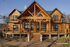 Nolan's Log Home on the Muprhy Compound (Country's Best 3361AL Showcase - Lakeside)