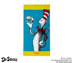 I love the Dr. Seuss™ Cat in the Hat Mini Beach Towel on potterybarnkids.com