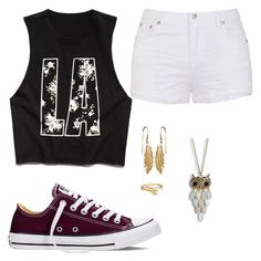 """Untitled #44"" by rylee-eilerts ❤ liked on Polyvore featuring Converse, Ally Fashion, Forever 21, Aéropostale, Bling Jewelry, women's clothing, women's fashion, women, female and woman"