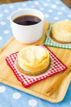 水切りヨーグルトのスフレチーズケーキ レシピブログ