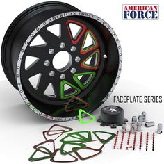 American Force Faceplate series wheels, customize your custom forged American Force wheels and make them yours! Made in America and backed by a lifetime warranty!!