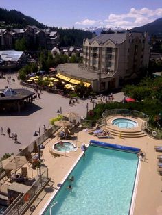 Pan Pacific Hotel in Whistler.  I LOVE it