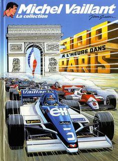 Michel Vaillant - La collection -42- 300 à l'heure dans Paris - BD