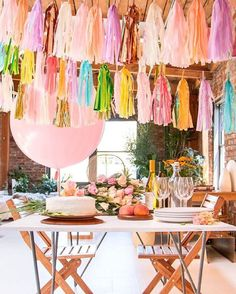 These tassels are the *perfect* chic decorations for a party! : @prospectgoods
