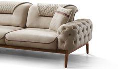 Diy Furniture Chair, Bedroom Furniture Design, Furniture Upholstery, Sofa Drawing, Modern Sofa Designs, Living Room Sofa Design, Wood Sofa, Sofa Seats, Luxury Sofa
