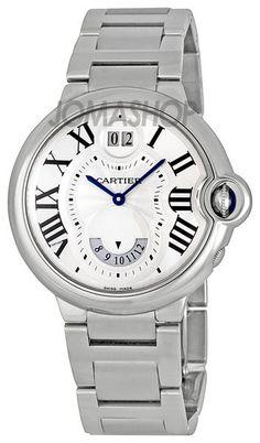 Cartier Ballon Bleu de Cartier Two Timezone Mens Watch W6920011 $4,611