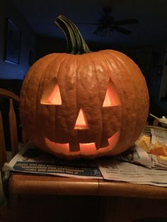 Pumpkin carving 2015