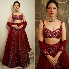 Image may contain: 2 people, people standing Indian Bridal Outfits, Indian Bridal Lehenga, Indian Designer Outfits, Lehnga Dress, Lehenga Choli, Sarees, Lehenga Blouse, Sabyasachi, Sharara