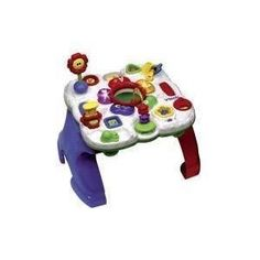 Vtech 2-in-1 Exploration Station by Vtech. $14.99. VTECH 2-in-1 Exploration Station Age Group: 9 Months+ So many different way to learn! Vtech's 2-in-1 Exploration Station uses advanced technology to make learning basic skills and concepts fun! Children will be amazed to see how sorting each shape dictates a new learning adventure. They'll learn numbers, letters and colors, and create lots of different sounds and music in all ten activities. But the fun doesn't end there! ...