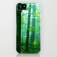 The Twilight Forest iPhone Case