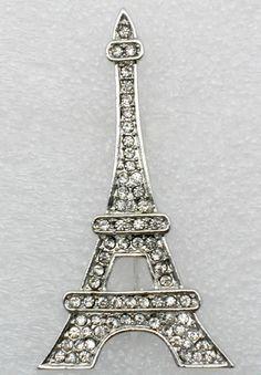 Broche Tour Eiffel - bijoux - coachella