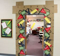 8 Back to School Door Décor Ideas - Online SignUp Blog by SignUp.com