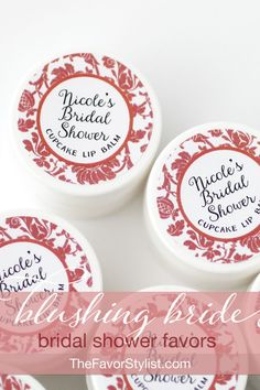 "When you're looking for a bachelorette favor or girls night gift and those NSFW favors just won't do, why not choose a favor that your guests can take anywhere? Click to see how we can help you create the perfect lingerie or bridal shower favors!  One of our customers shared, ""They look fabulous! I can't wait to give them out at my sister's party!"" #bridalshower, #partyfavors, #favors, #lingerieparty"