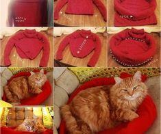 DIY καναπέ Pet Bed