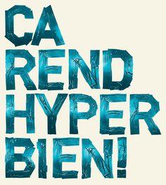Typo tape by Frédéric Savioz, via Behance