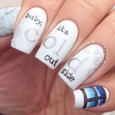 80 Winter Nail Art Ideas for Short Nails