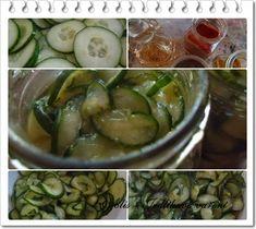 Food blog s recepty na vaření a pečení. Blog s recepty na rychlá domácí jídla. Pickles, Cucumber, Food, Eten, Pickle, Pickling, Cauliflower, Meals, Zucchini