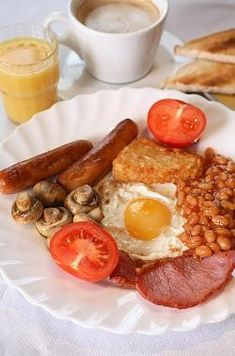 Traditional Irish breakfast...yep thts it..