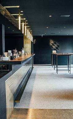 Maximilian Gradl and his partners originally intended to open a champagne bar, but after a survey of the light-filled L-shaped space in a postmodernist pile built in the late 1950s by Sepp Ruf and Theo Pabst, the Zurich-based architects Build_Inc had m...
