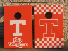 Custom Tennessee Cornhole Boards! Hey love these boards!! I'm sure whoever plays on them is pretty awesome :) ▶JO