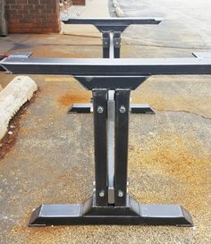 industrial kitchen table furniture. Stylish Dining Table Legs, Model #010, Industrial Kitchen Legs With 2 Brace Furniture N