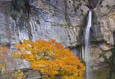 Cascada de Aizpún. Valle de Goñi, Navarra