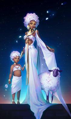 Black Love Art, Black Girl Art, Art Girl, Arte Dope, Dope Art, African American Art, African Art, Character Inspiration, Character Art