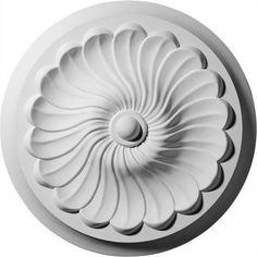 Our ceiling medallion collections are modeled after original historical patterns and designs. Our artisans then hand carve an original piece. Being hand carved each piece is richly detailed with deep