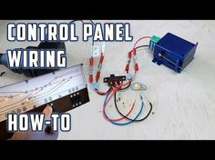 Control Panel Wiring (with LED's) - How To - Model Railroads - YouTube