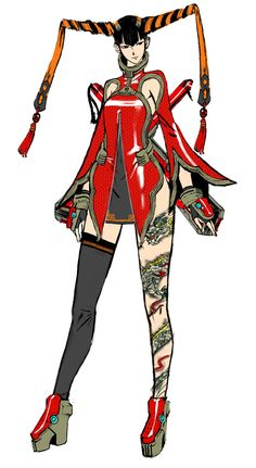 Rin Rin from Anarchy Reigns