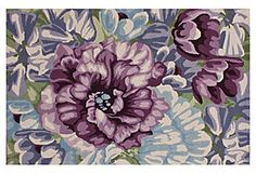 Jasper Rug, Aqua/Purple/Multi, $719.00