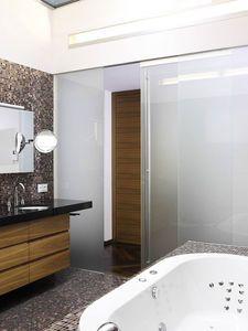 parete scorrevole / in vetro / ad uso professionale