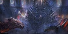 black dragon illustration fantasy art Game of Thrones Daenerys Targaryen Iron Throne Game Of Thrones Poster, Game Of Thrones Facts, Game Of Thrones Quotes, Game Of Thrones Funny, Ned Stark, Game Of Thrones Wallpapers, Jon Snow, Daenerys Targaryen, Khaleesi